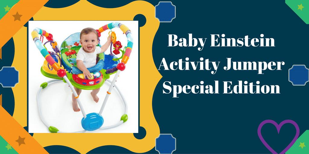 Baby Einstein Activity Jumper Special Edition, Neighborhood Friends Review