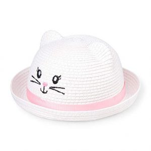 The Children's Place Baby Girls Novelty Graphic Straw Hat