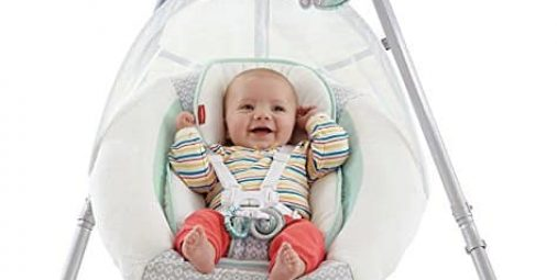 Fisher-Price Moonlight Meadow Cradle 'n Swing
