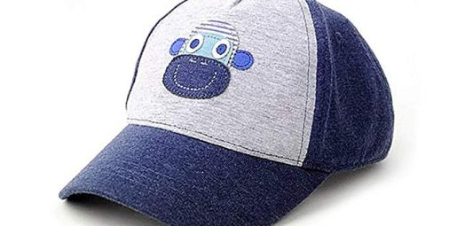UQ Kids Cute Stars Cotton Adjustable Baseball Hats Sun Visors